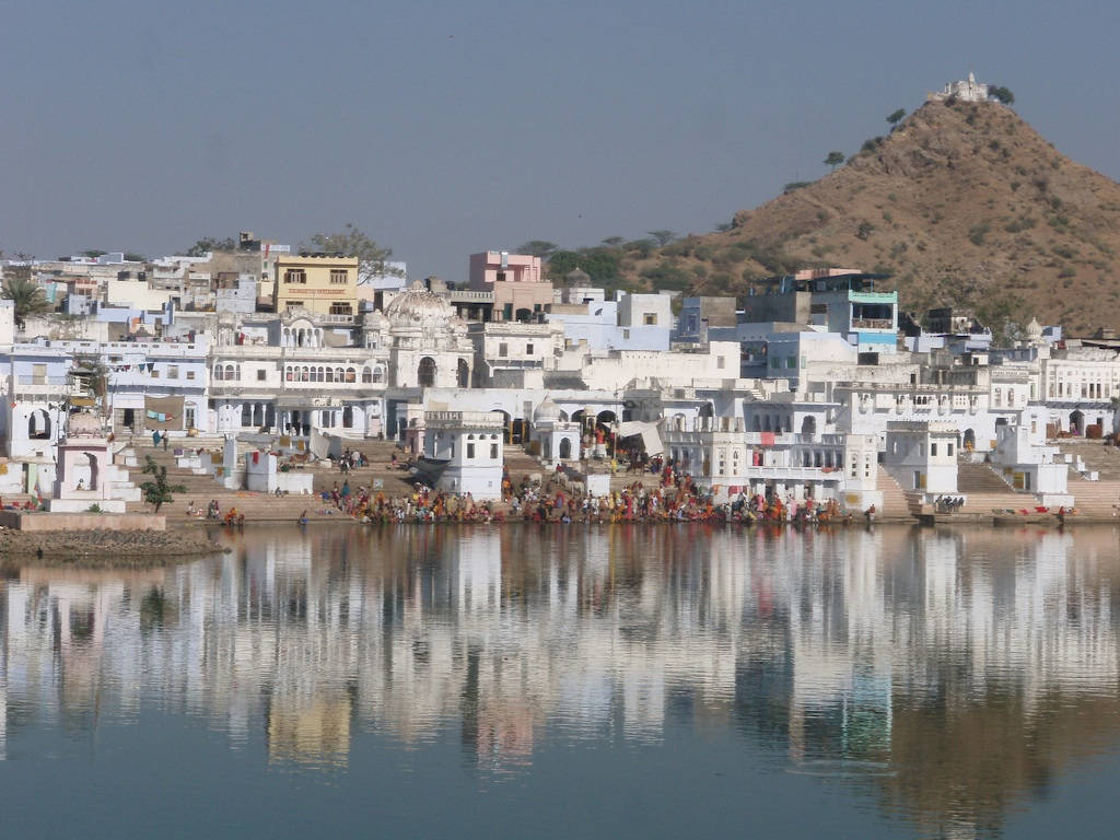 Pushkar Ghats- Top 7 places to vosot in Rajasthan