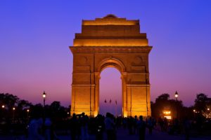 The India Gate - HiWay Cabs Chandigarh To Delhi